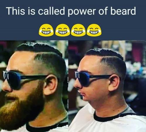 power of beard