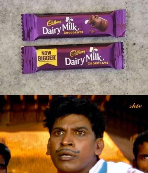Dairy milk meme
