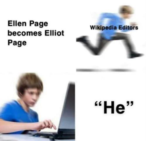 Ellen Page meme