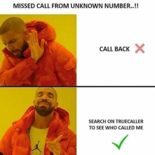 call back, no