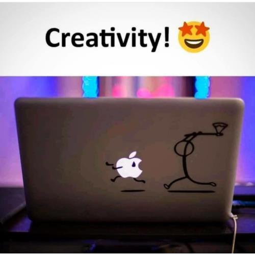 That creative hats off man😝😜