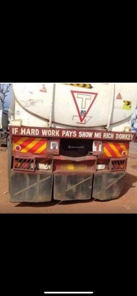Hardwork rich donkey meme