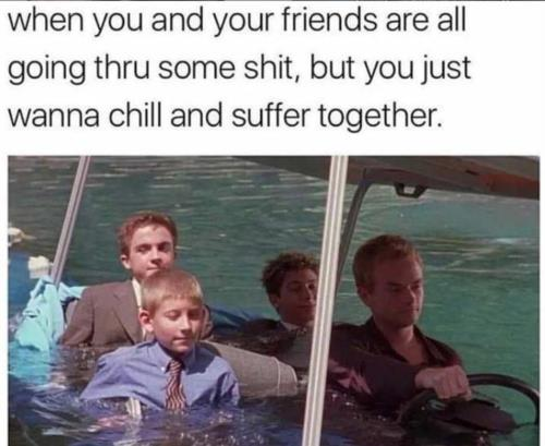 chill n suffer together