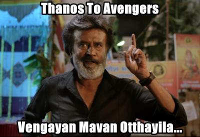 Thanos To Avengers