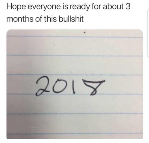 2017 2018 meme