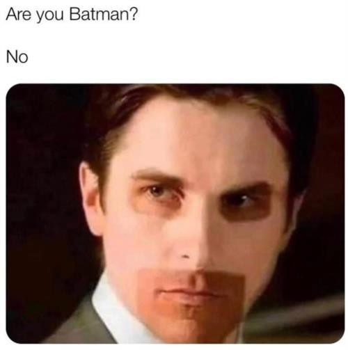 caught batman