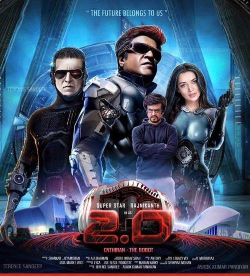 Endhiran 2.0 to release in 3D. , Amy Jackson and A