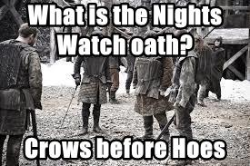 What is the Nights Watch oath?
