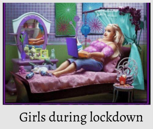 fattening in lockdown