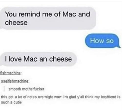 I too love mac and cheese